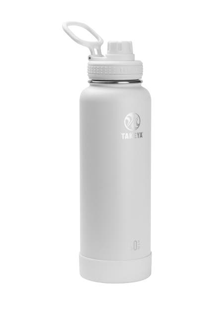 Image of Takeya Arctic Actives Insulated 40 oz. Spout Lid Stainless Steel Bottle