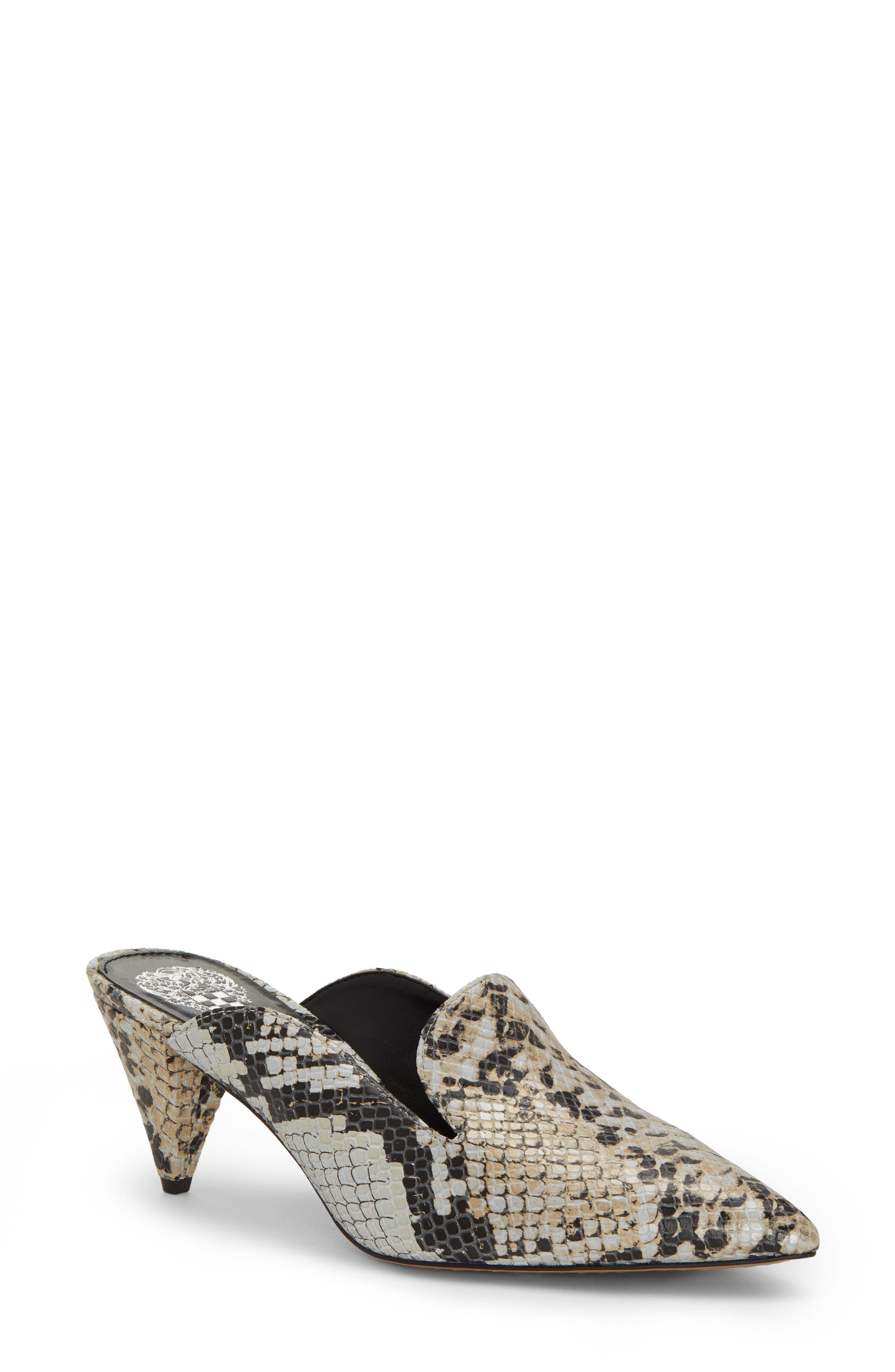 Vince Camuto Cessilia Pointy Toe Mule- Grey
