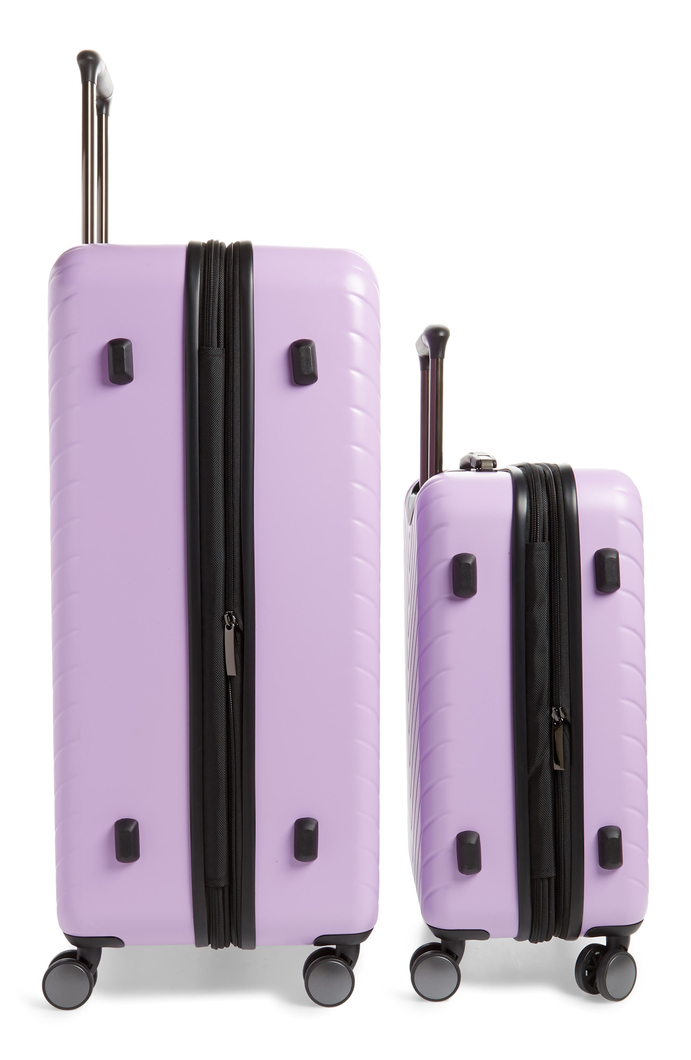,                             Chevron 29-Inch & 18-Inch Spinner Luggage Set,                             Alternate thumbnail 3, color,                             LAVENDER SWEET
