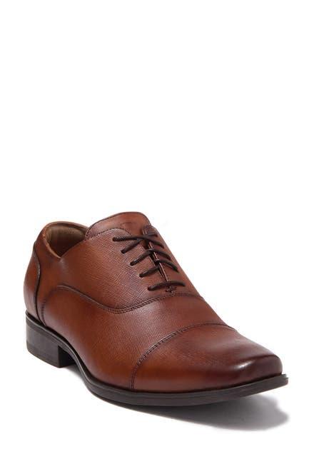 Image of Florsheim Ragusa Leather Cap Toe Oxford