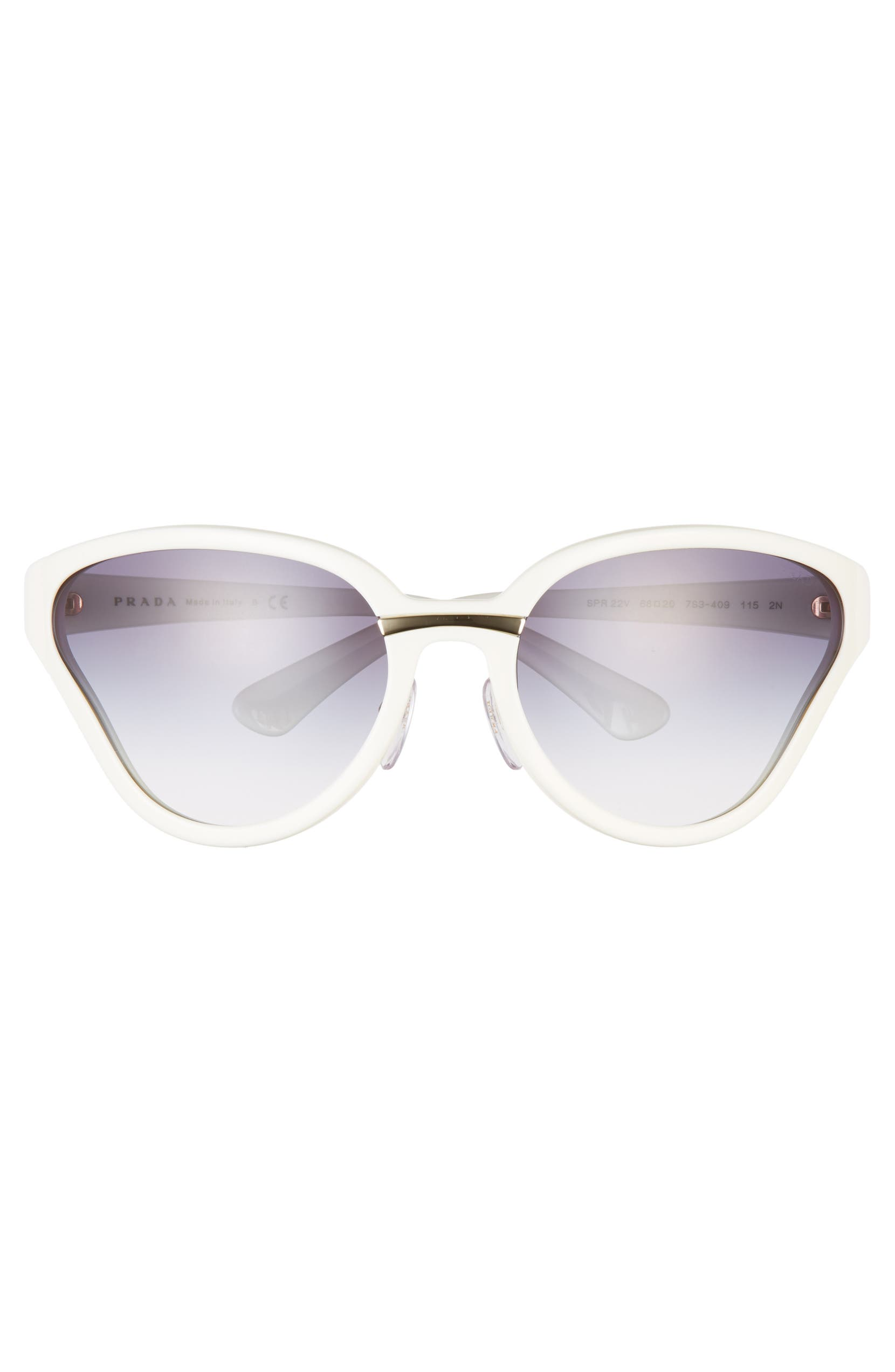 0fbe34b0a084 Prada 68mm Oversize Wrap Butterfly Sunglasses | Nordstrom