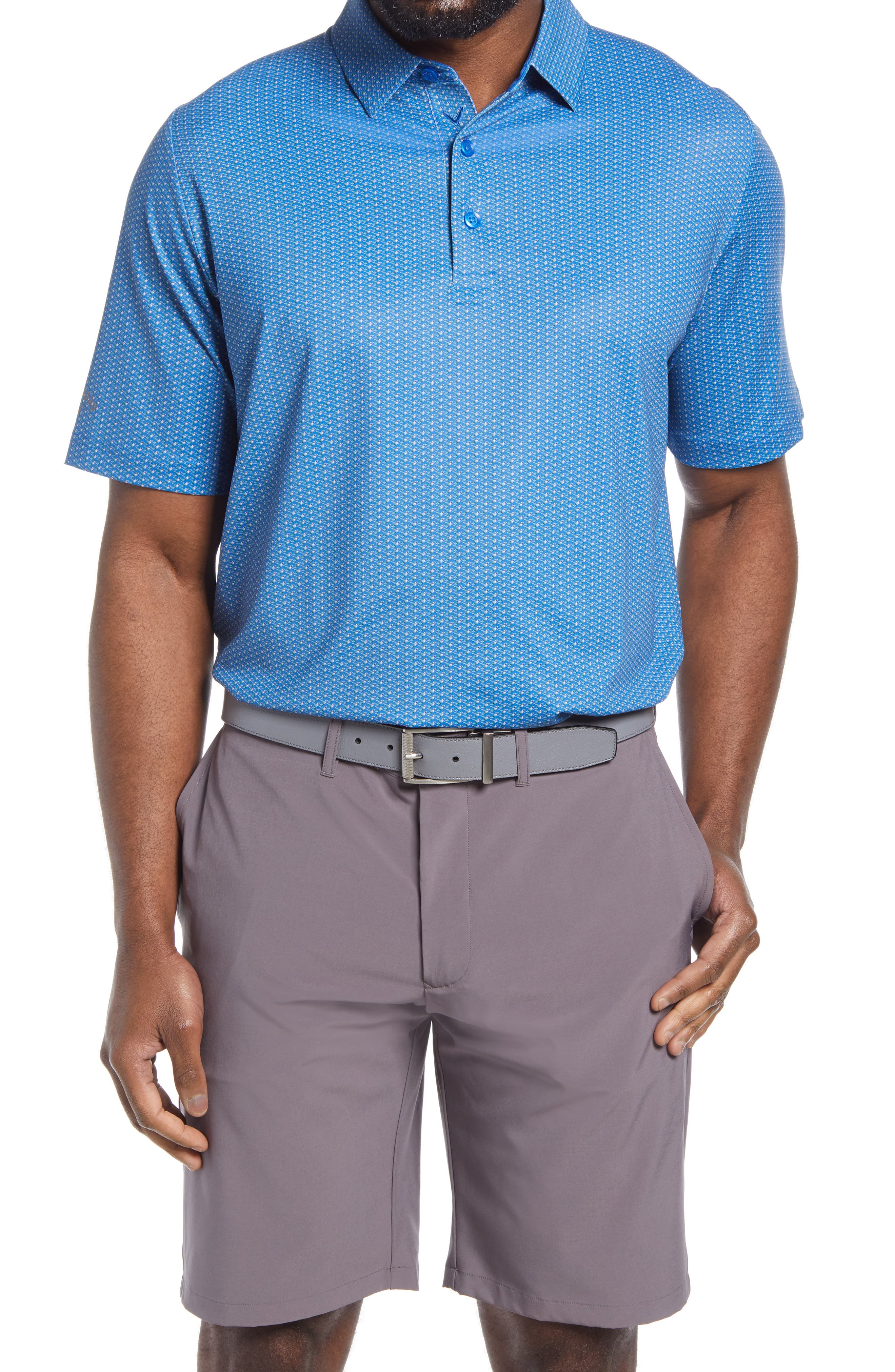 Men's Callaway Golf Swing Tech(TM) Neat Performance Golf Polo