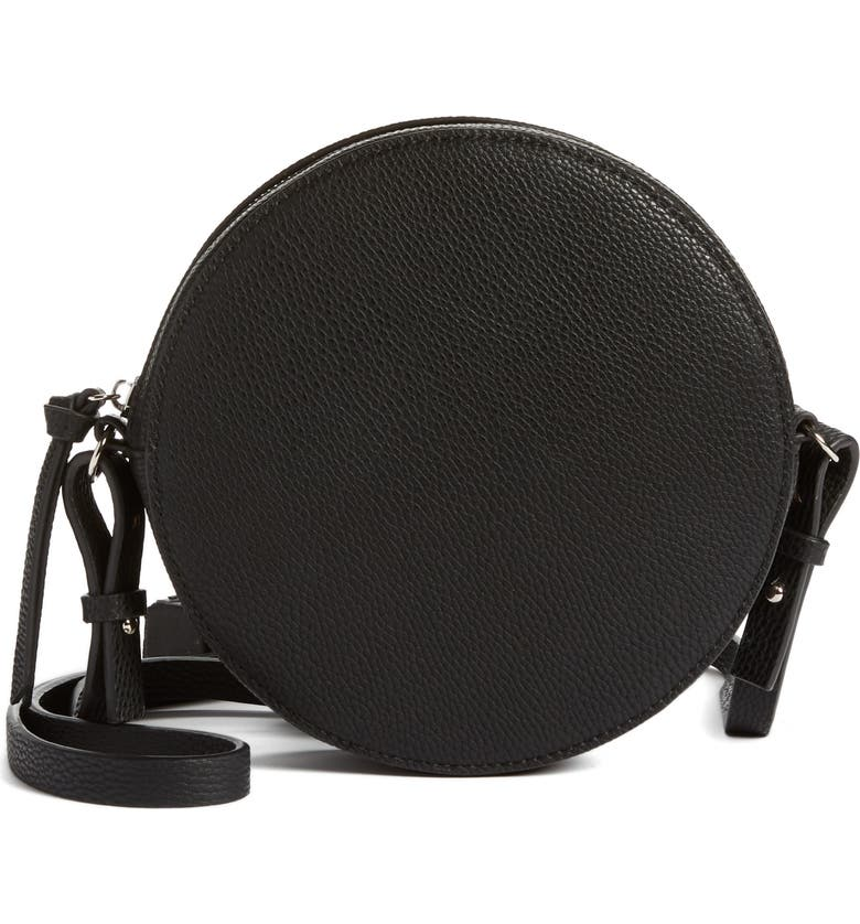 CHELSEA28 Cassie Faux Leather Crossbody Bag, Main, color, 001
