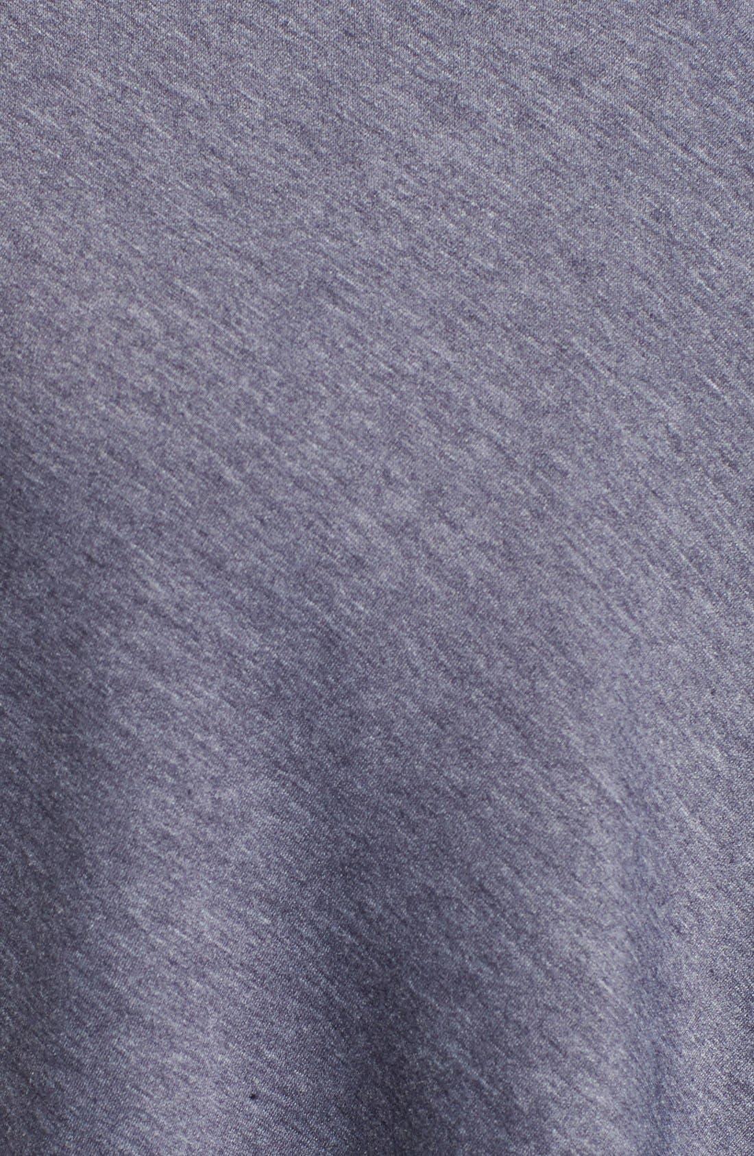 ,                             One-Button Fleece Wrap Cardigan,                             Alternate thumbnail 134, color,                             424