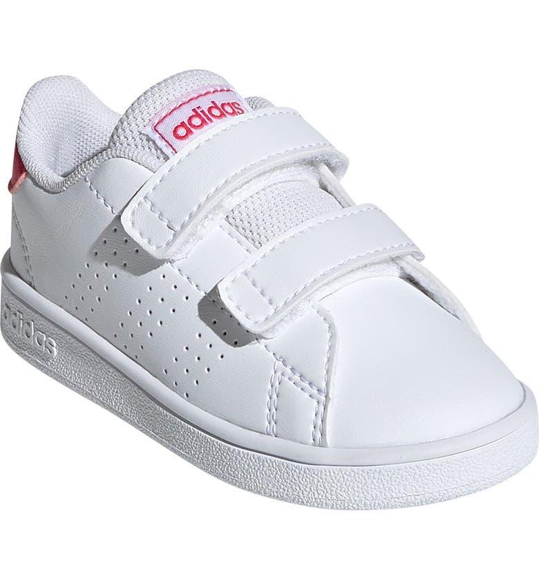 ADIDAS Advantage Sneaker, Main, color, FTWWHT/REA