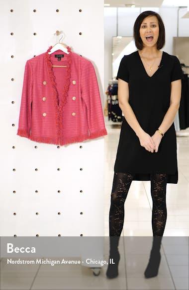 Poppy Novelty Textured Knit Jacket, sales video thumbnail