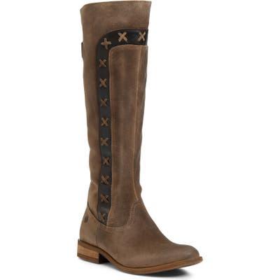 B?rn Albi Knee High Boot- Beige