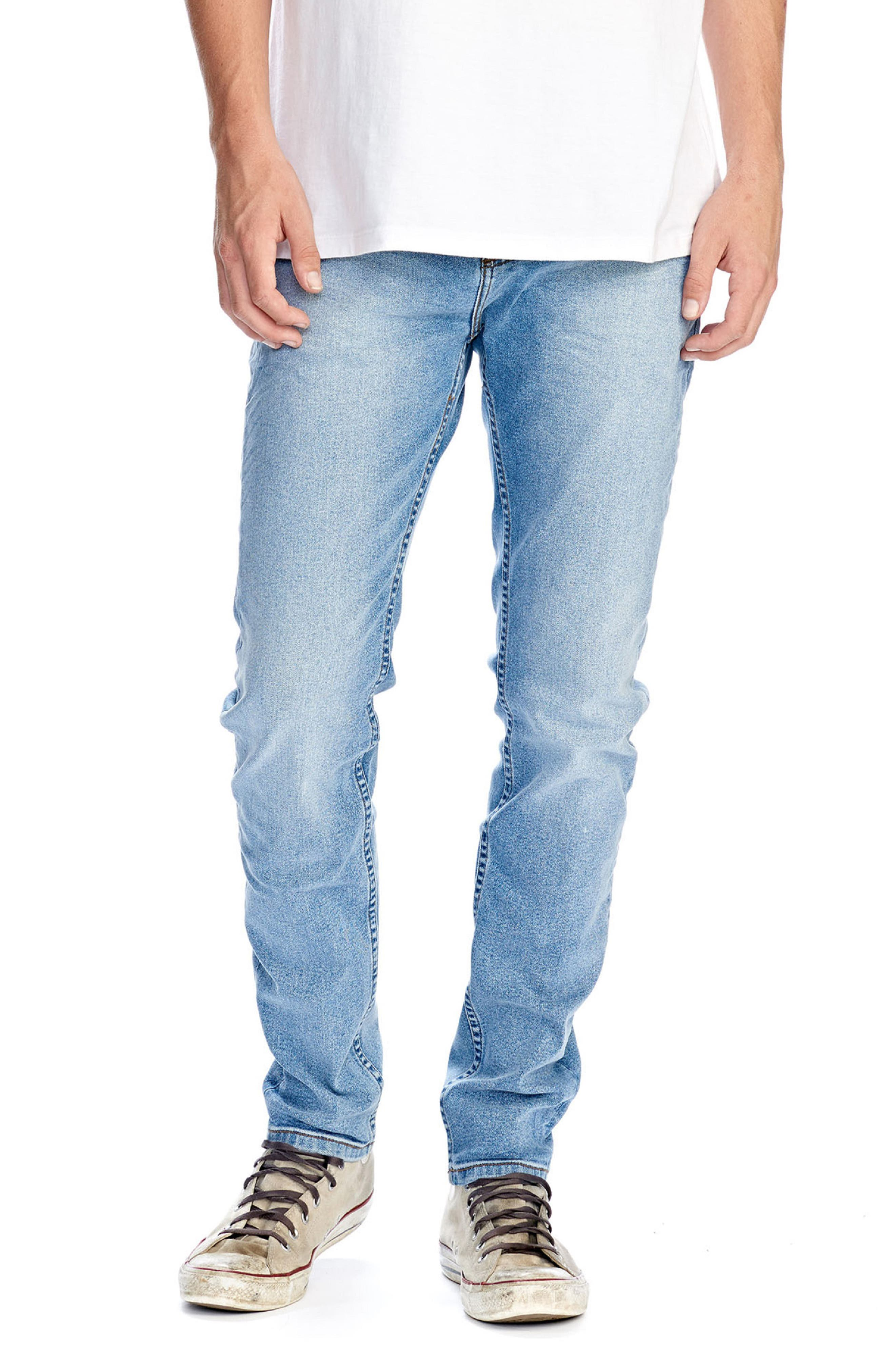 Stinger Skinny Fit Jeans, Main, color, CLASSIC CRUSH