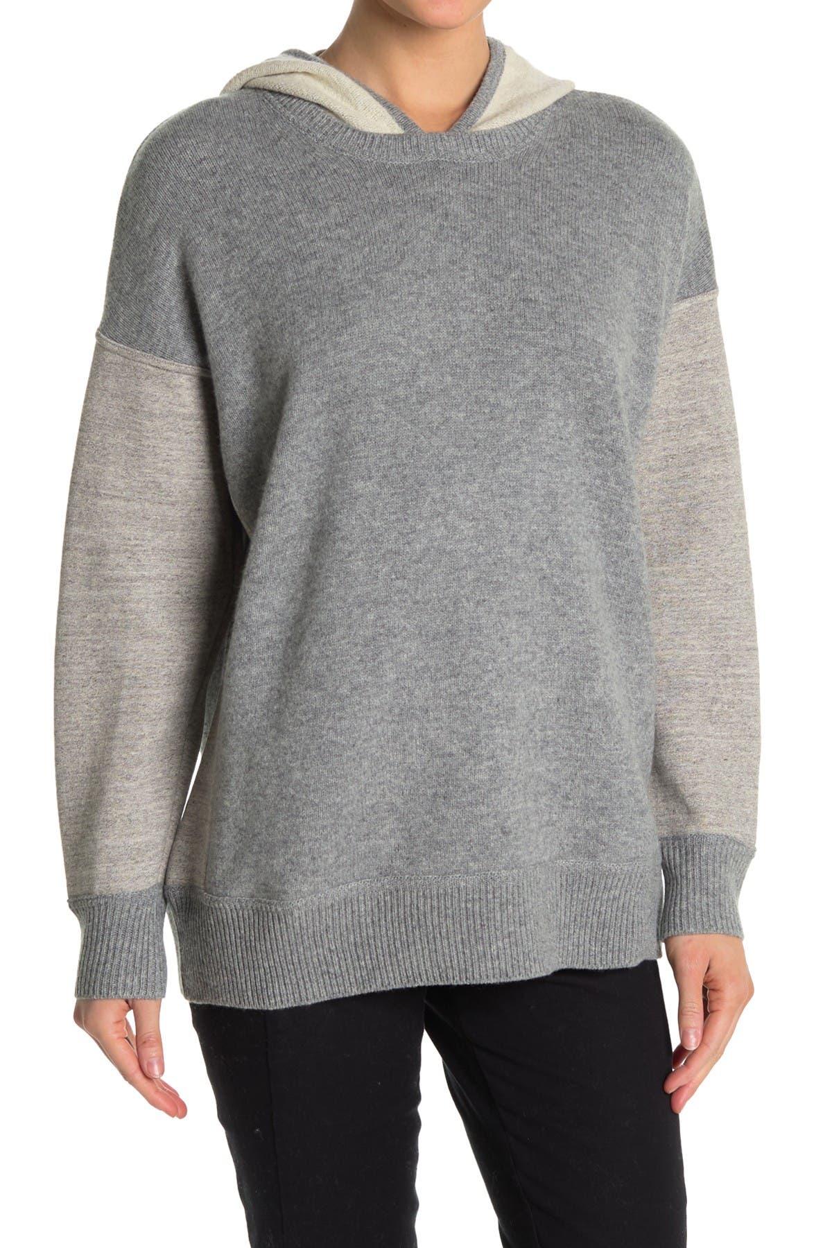 Image of James Perse Contrast Hooded Sweatshirt
