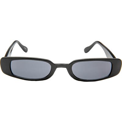 Rad + Refined Mini Rectangle Sunglasses - Black