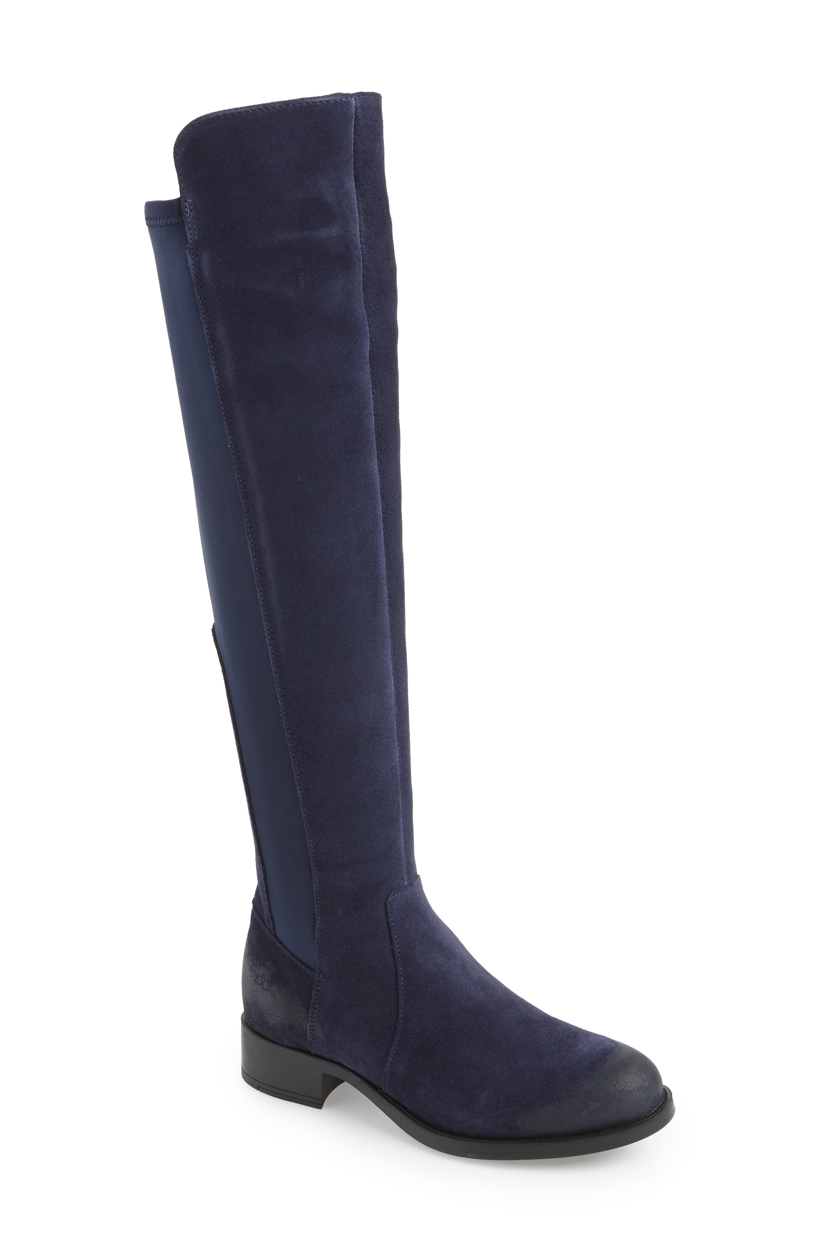 Bos. & Co. Bunt Waterproof Over The Knee Boot - Blue