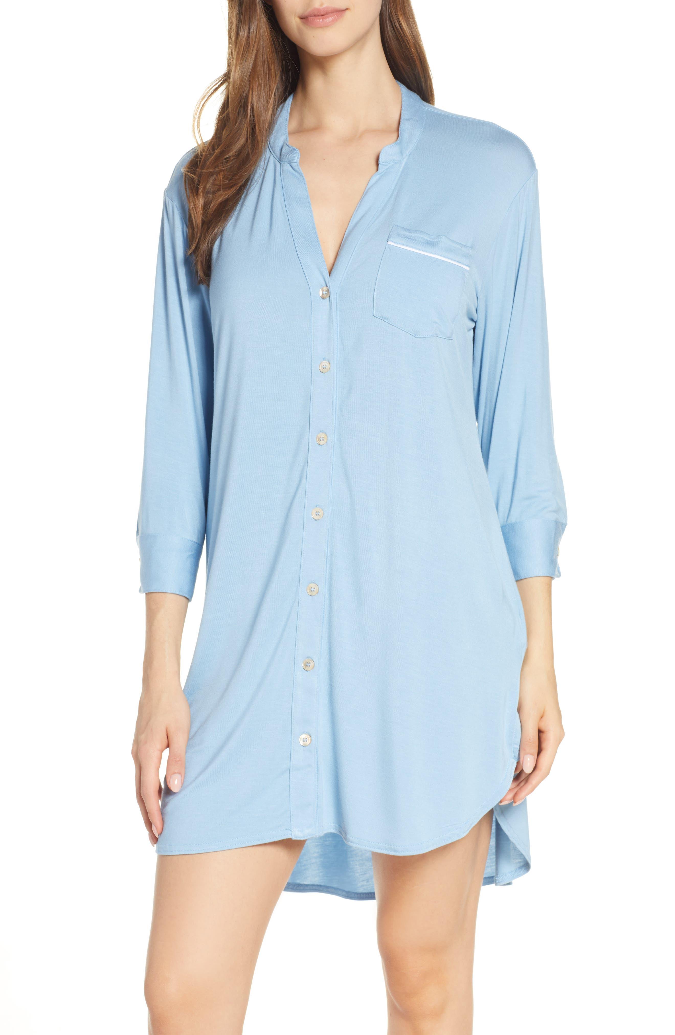 Ugg Vivian Sleep Shirt, Blue
