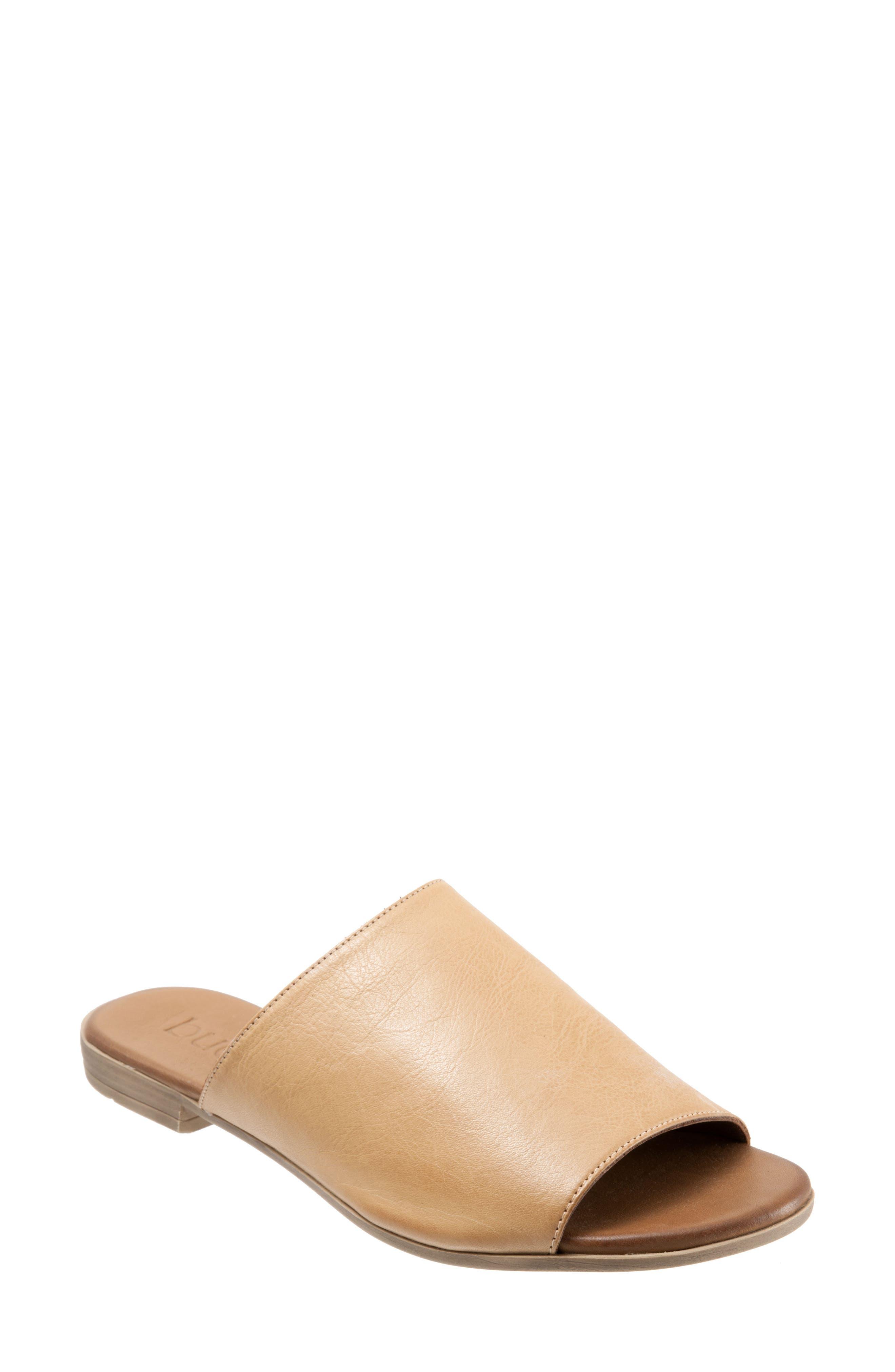 Bueno Jory Slide Sandal - Beige
