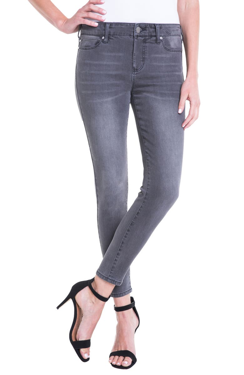 LIVERPOOL Jeans Company Penny Ankle Skinny Jeans, Main, color, 020