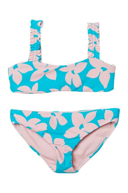Image of RAISINS Tulum Floral Print Bikini 2-Piece Set