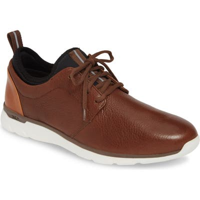 Johnston & Murphy Prentiss Xc4 Waterproof Low Top Sneaker- Brown