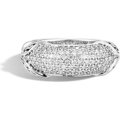 John Hardy Asli Classic Chainlink Pave Band Ring
