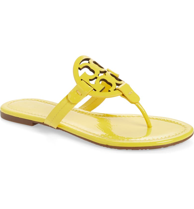 TORY BURCH Miller Flip Flop, Main, color, LIMONE