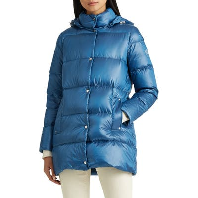 Lauren Ralph Lauren Packable Puffer Jacket, Brown