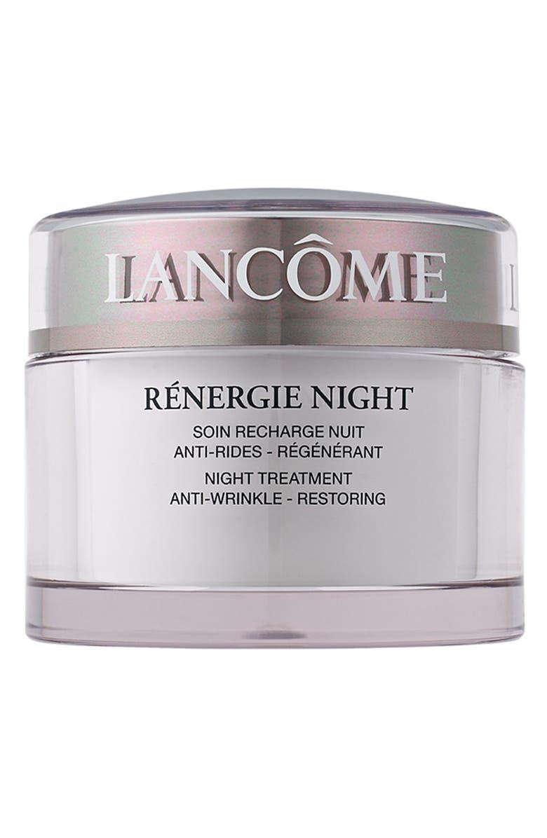 LANCÔME Rénergie Moisturizer Night Cream, Main, color, NO COLOR