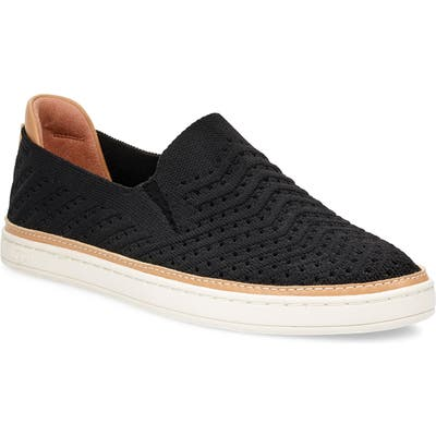 Ugg Sammy Slip-On Sneaker- Black