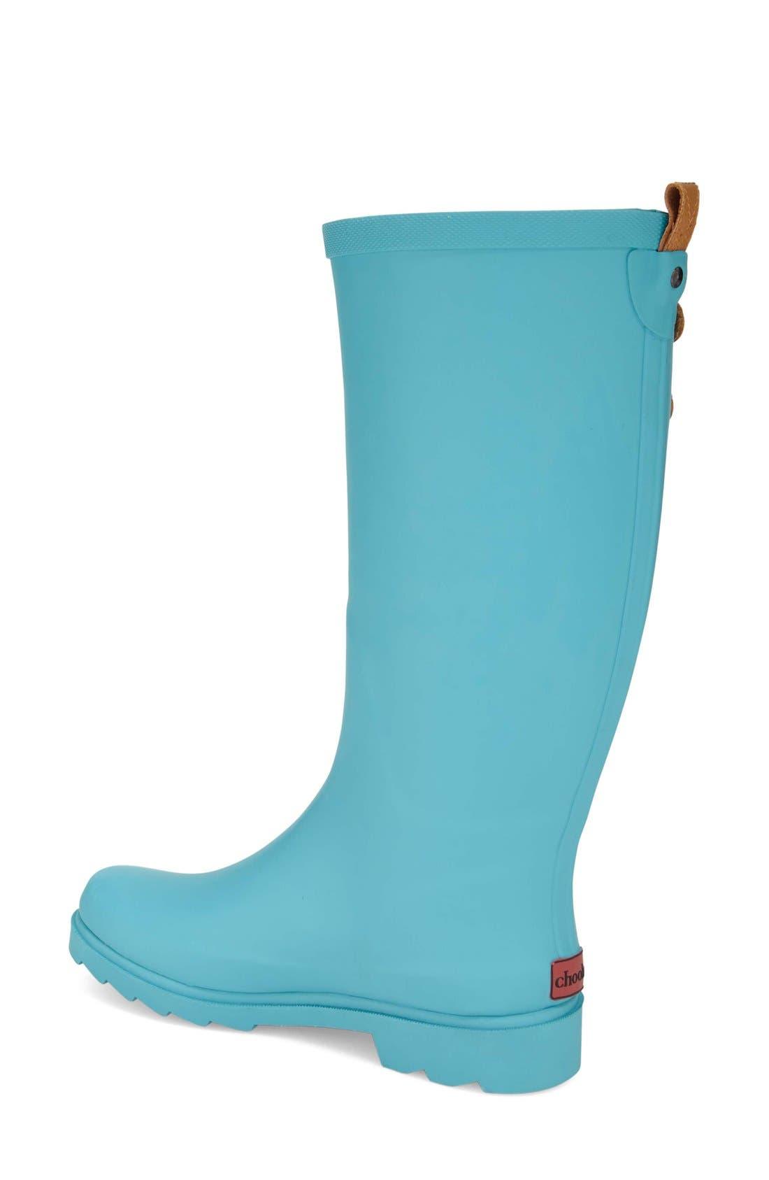 ,                             'Top Solid' Rain Boot,                             Alternate thumbnail 76, color,                             440
