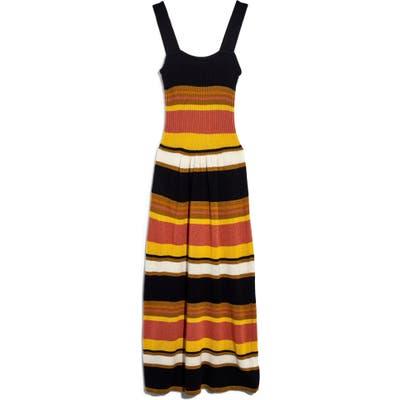Madewell Rib Tank Sweater Dress, Black