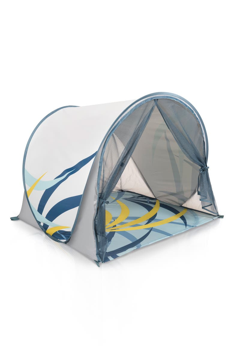BABYMOOV Anti-UV Tent, Main, color, GREY BLUE