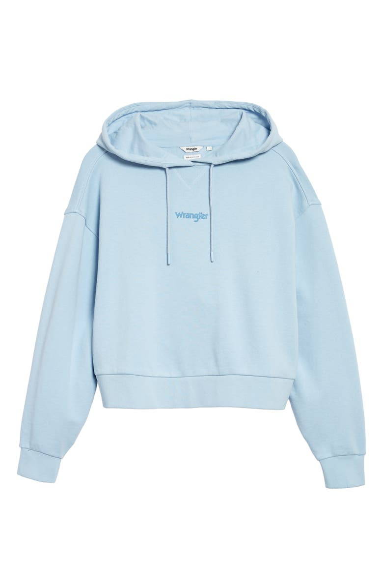 WRANGLER Crop French Terry Hoodie, Main, color, 020