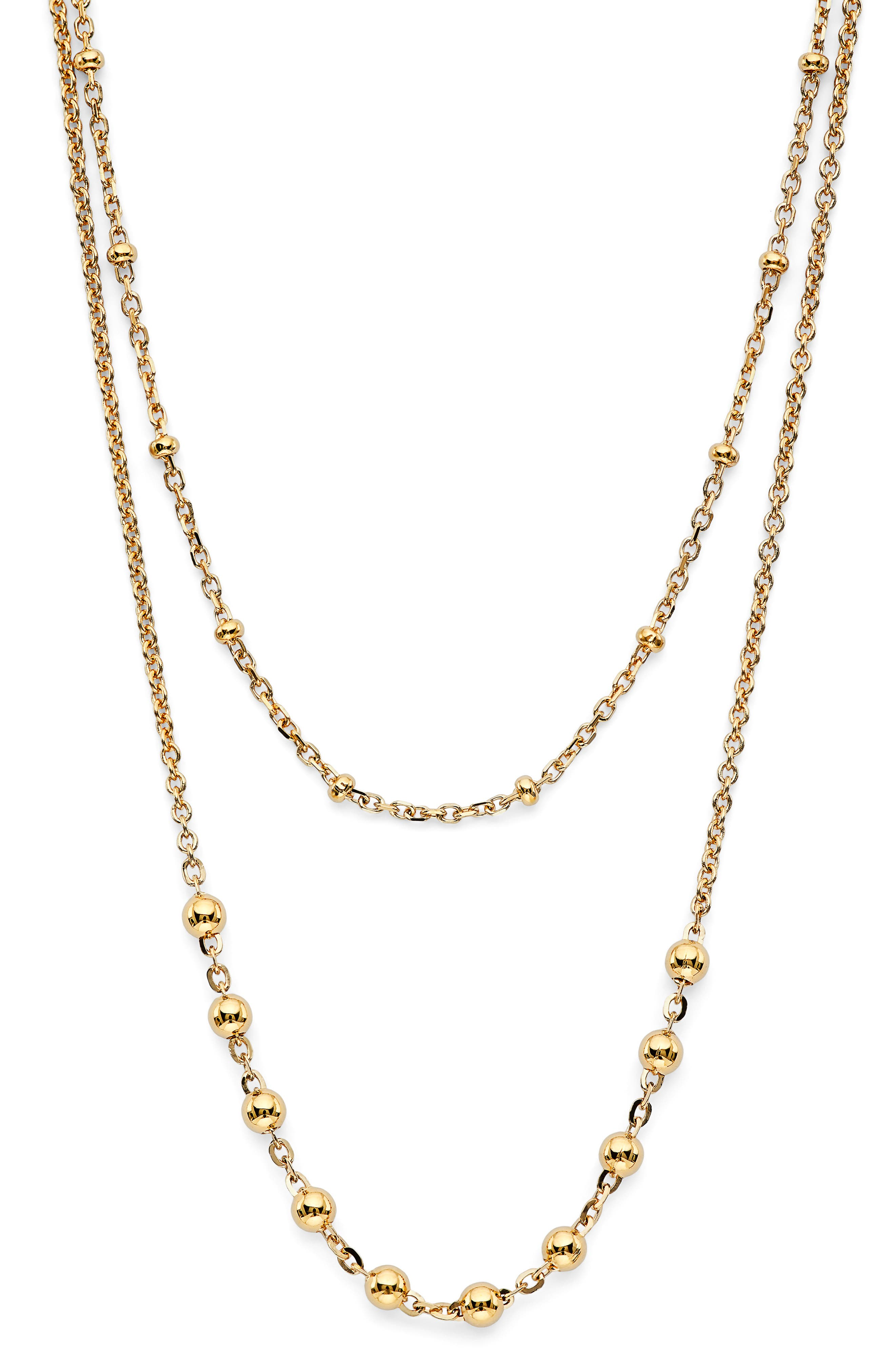 Lala Layered Chain Necklace
