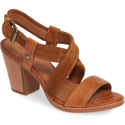 Frye Dani Crisscross Sandal- Brown