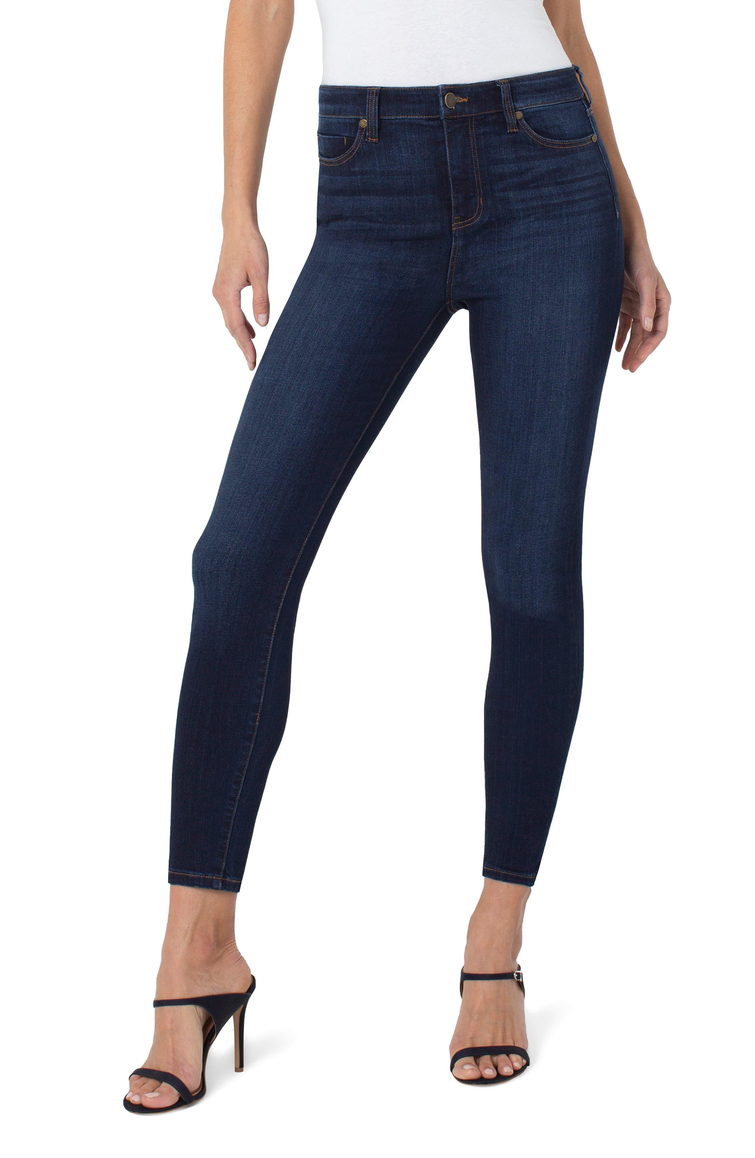 Bridget High Waist Ankle Jeans