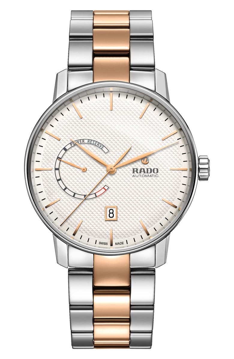 RADO Coupole Classic Automatic Bracelet Watch, 41mm, Main, color, 040
