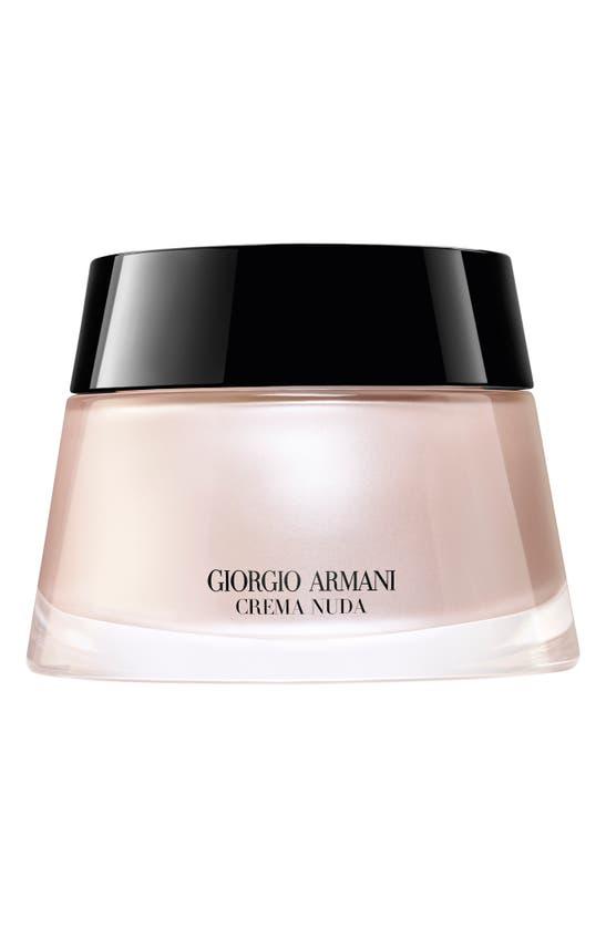 Giorgio Armani Crema Nuda Supreme Glow Reviving Tinted Moisturizer In 02 Light Glow (light/cool)