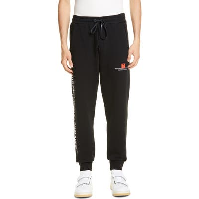 Palm Angels Palm Tree Sweatpants, Black