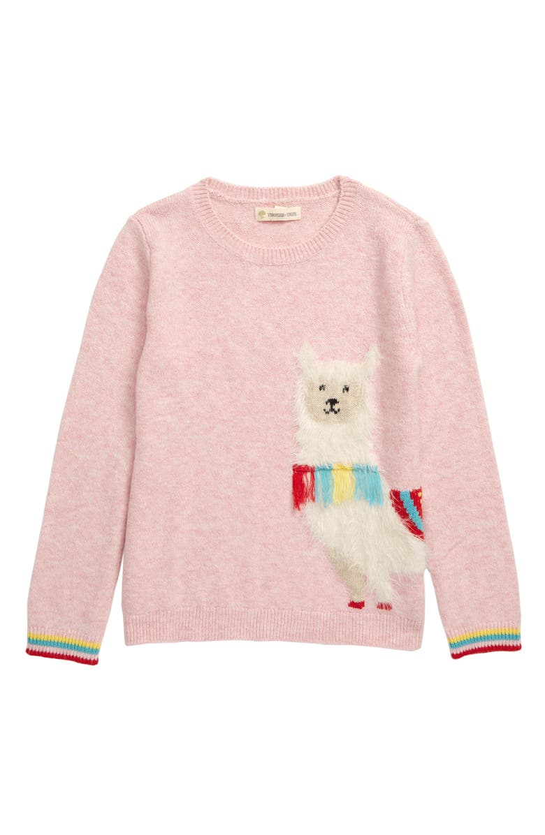 TUCKER + TATE Llama Icon Sweater, Main, color, 680