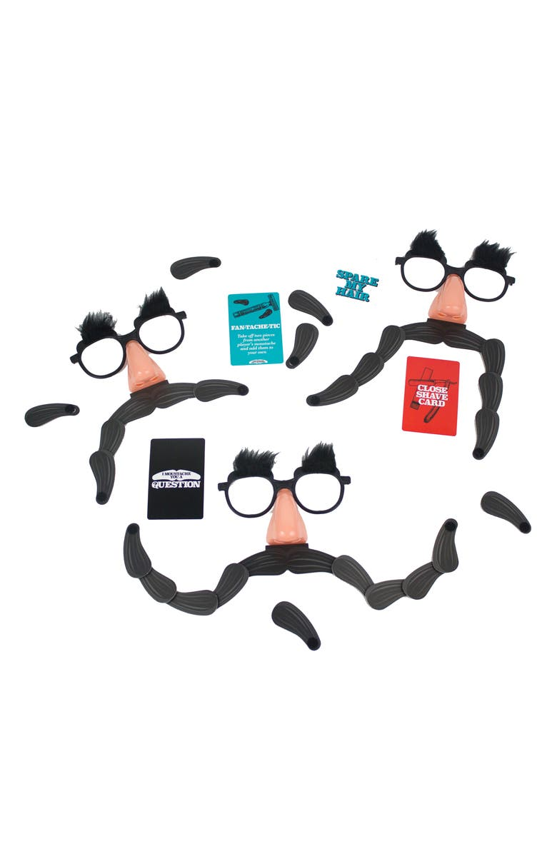 PROFESSOR PUZZLE I Mustache You A Question Party Game, Main, color, MULTI