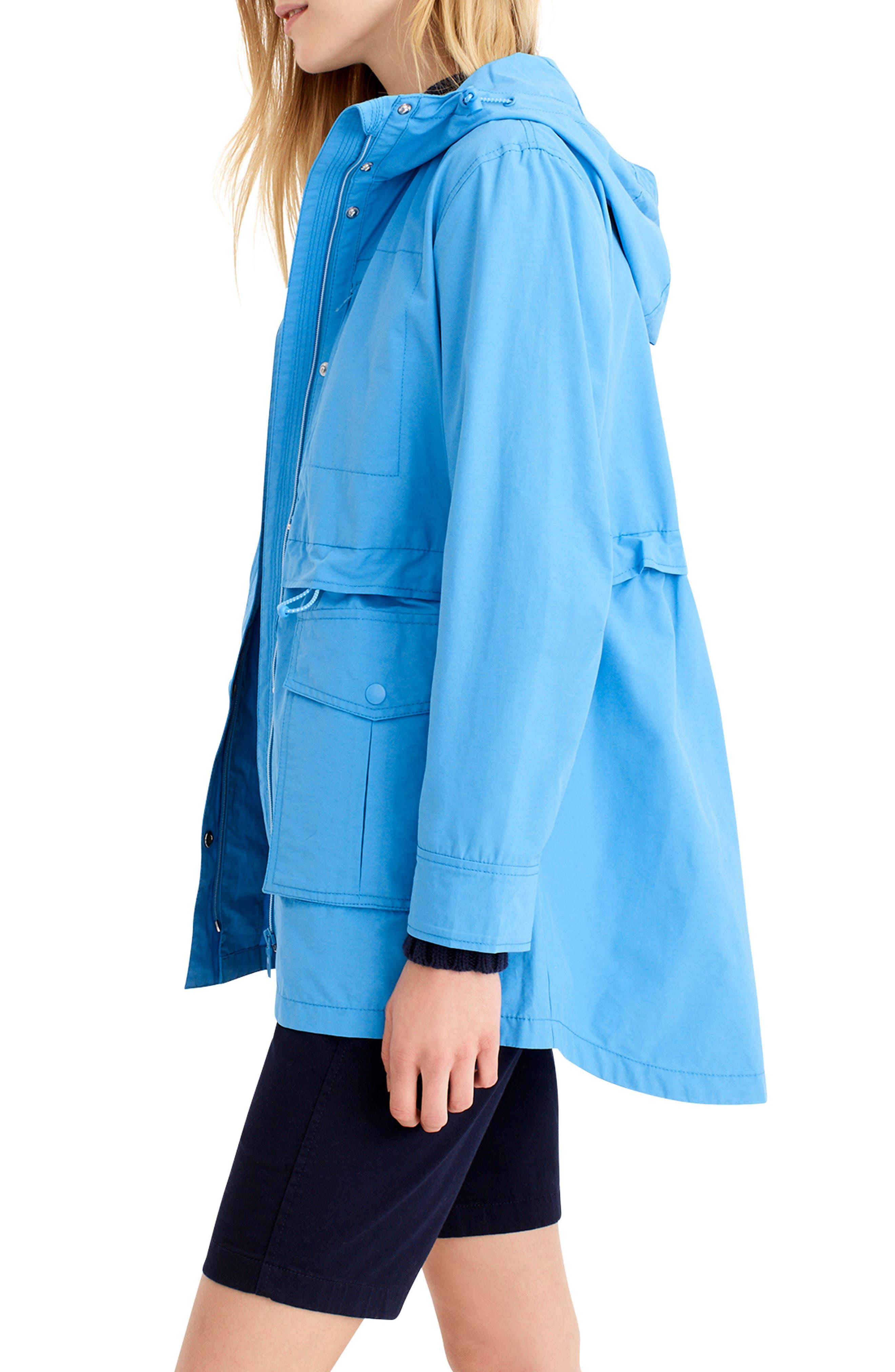 ,                             Perfect Raincoat,                             Alternate thumbnail 4, color,                             WATERCOLOR SKY