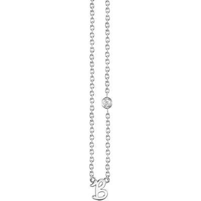 Syd By Sydney Evan Diamond Initial Pendant Necklace