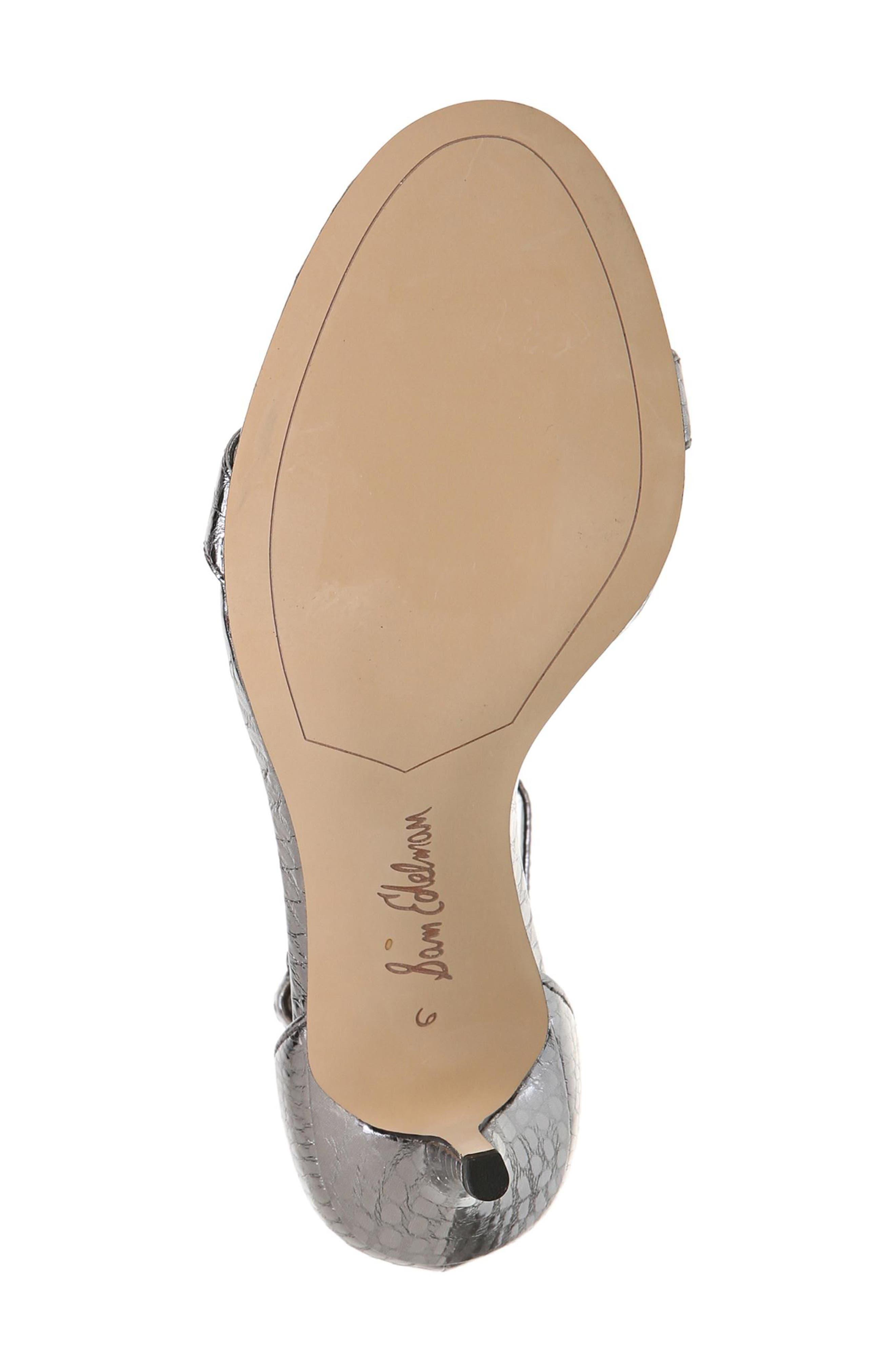 ,                             'Patti' Ankle Strap Sandal,                             Alternate thumbnail 56, color,                             097