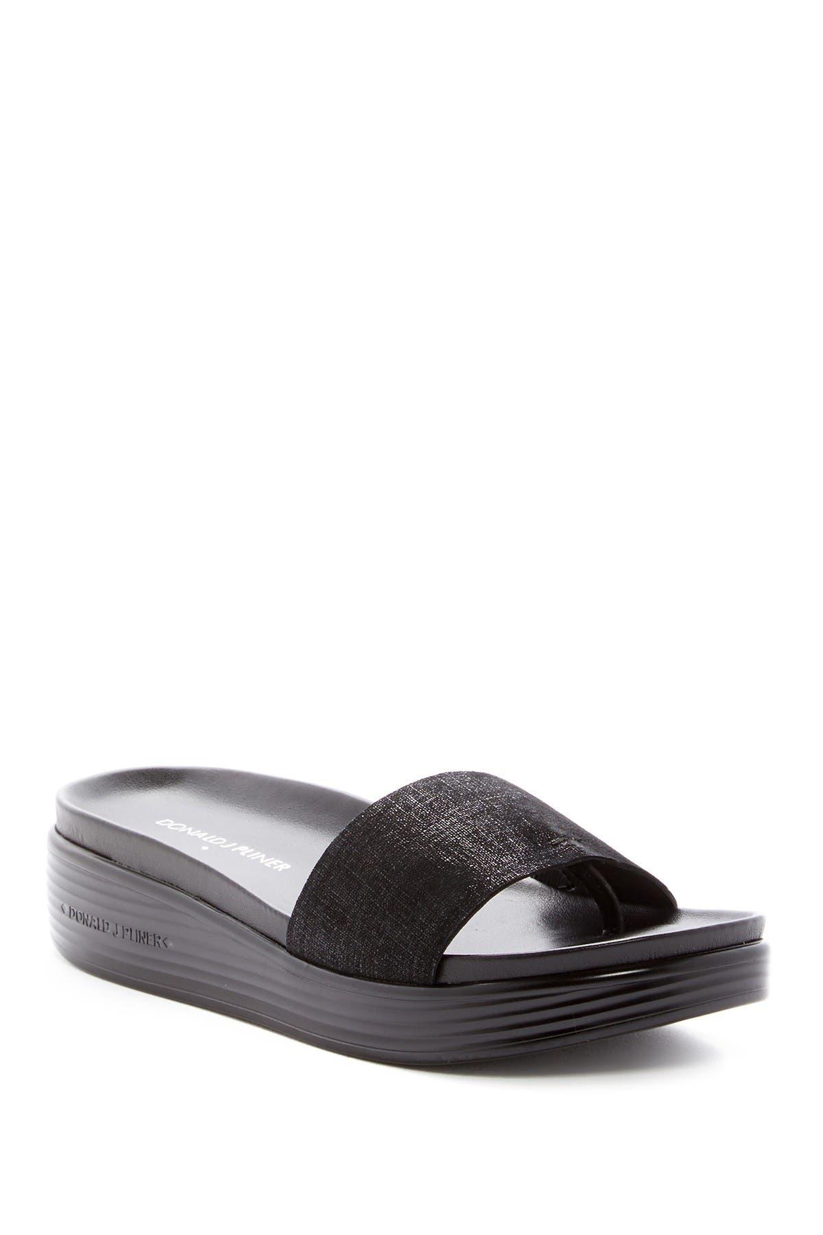 Image of Donald Pliner Fiji Suede Slide Sandal