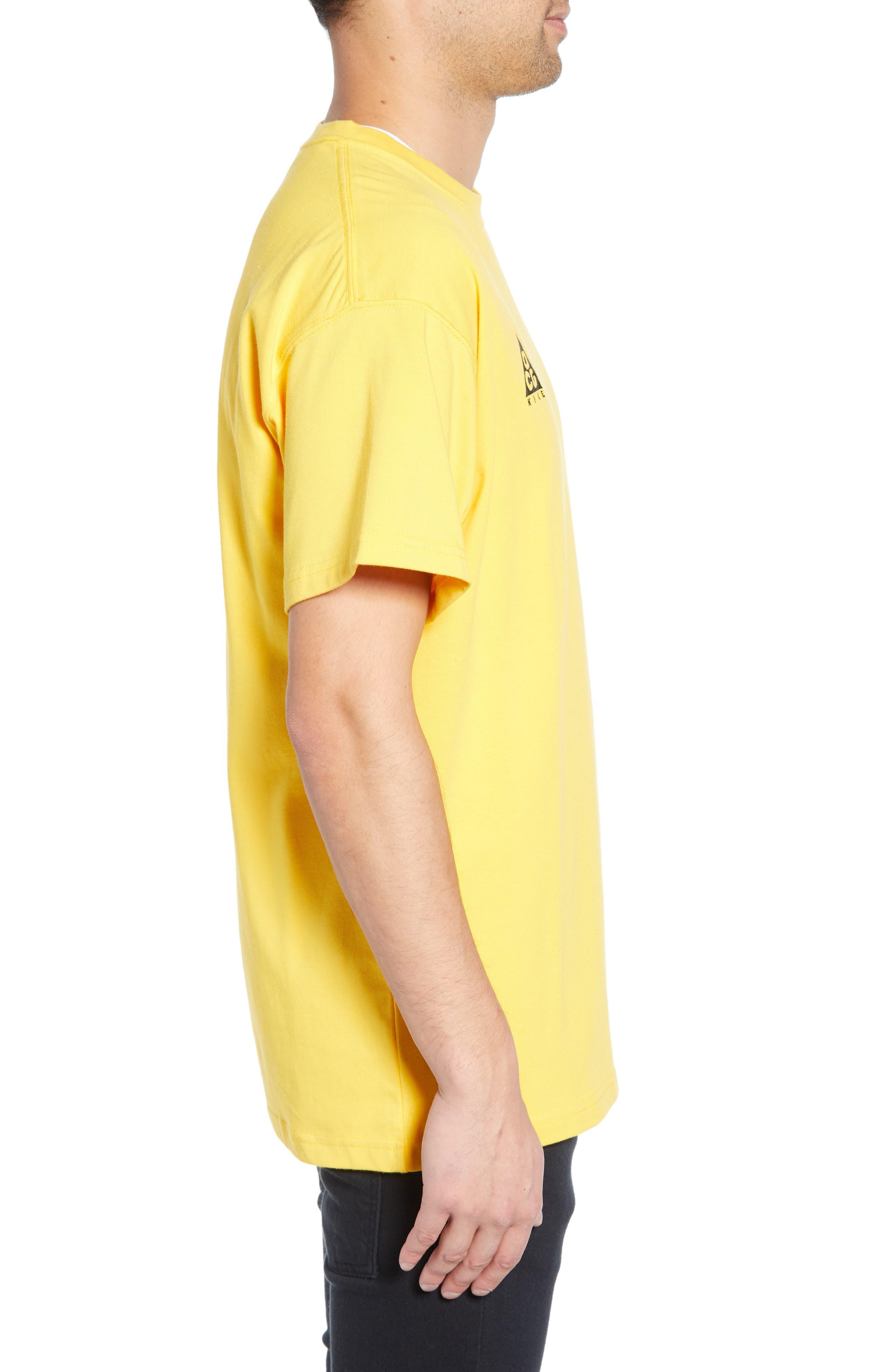 ,                             NRG All Conditions Gear Men's Logo T-Shirt,                             Alternate thumbnail 3, color,                             AMARILLO
