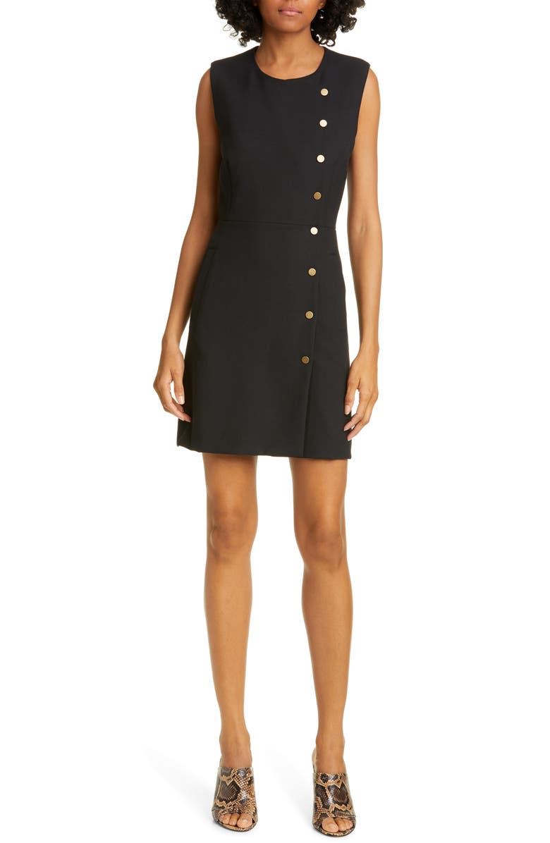 VERONICA BEARD Cutler Minidress, Main, color, 001