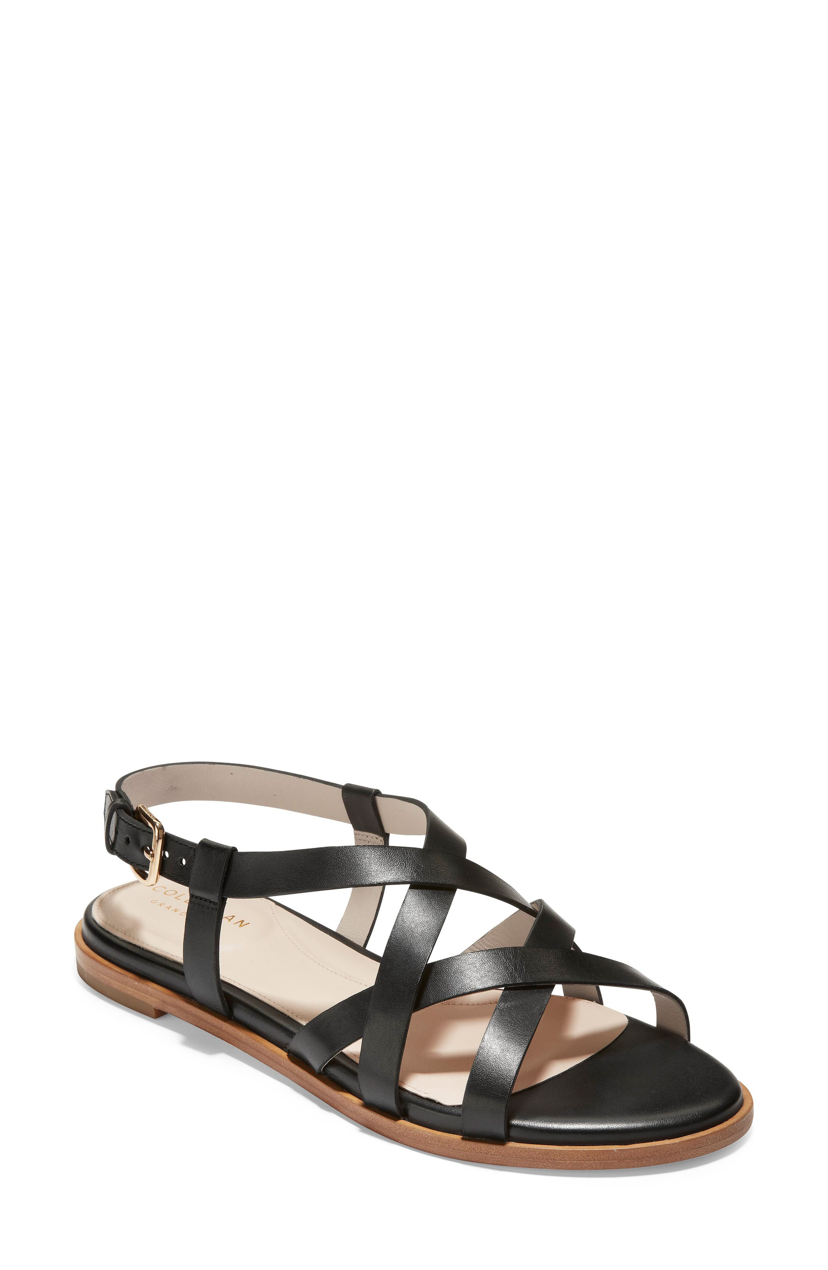 Cole Haan Analeigh Strappy Sandal, Black