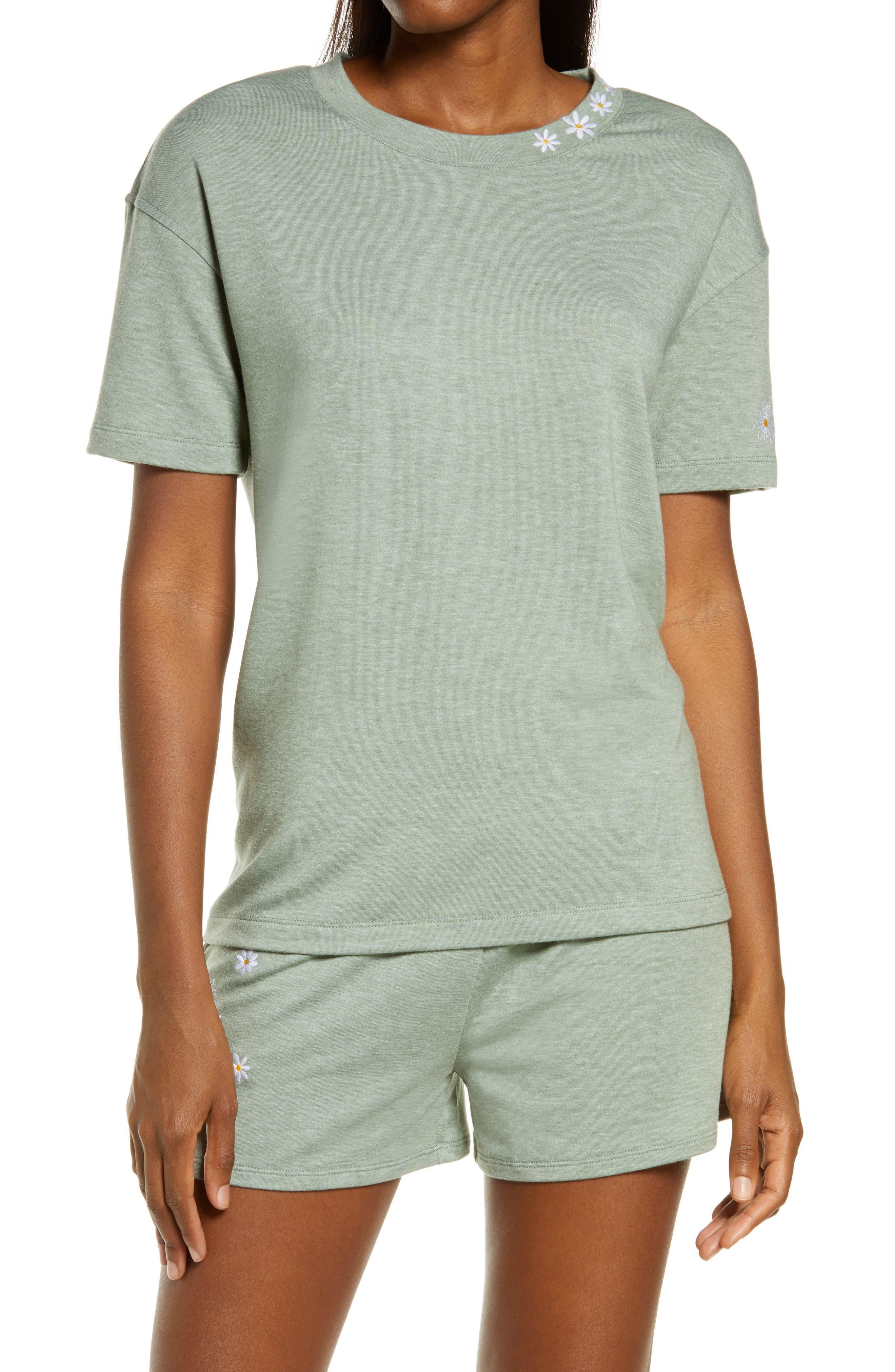 Heathered Short Pajamas