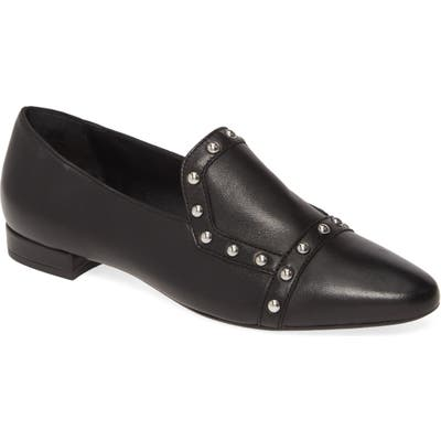 Agl Studded Loafer, Black