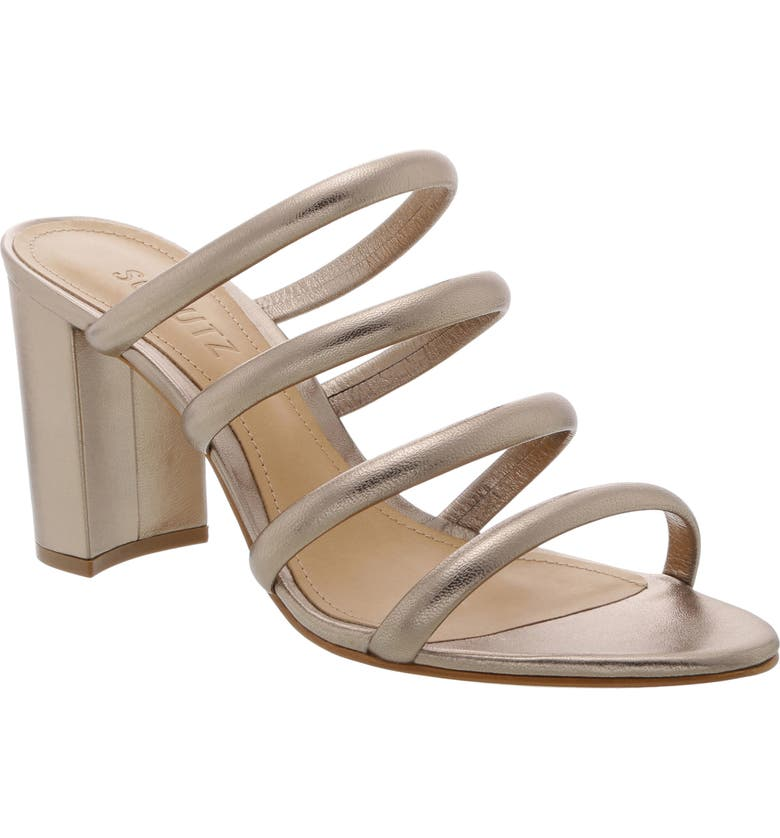 SCHUTZ Felisa Block Heel Sandal, Main, color, LUNA LEATHER