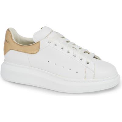 Alexander Mcqueen Oversize Low Top Sneaker, White
