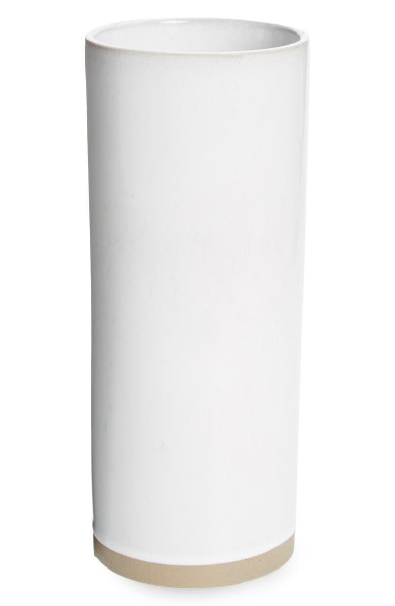 THE WHITE COMPANY Large Stoneware Vase, Main, color, 100