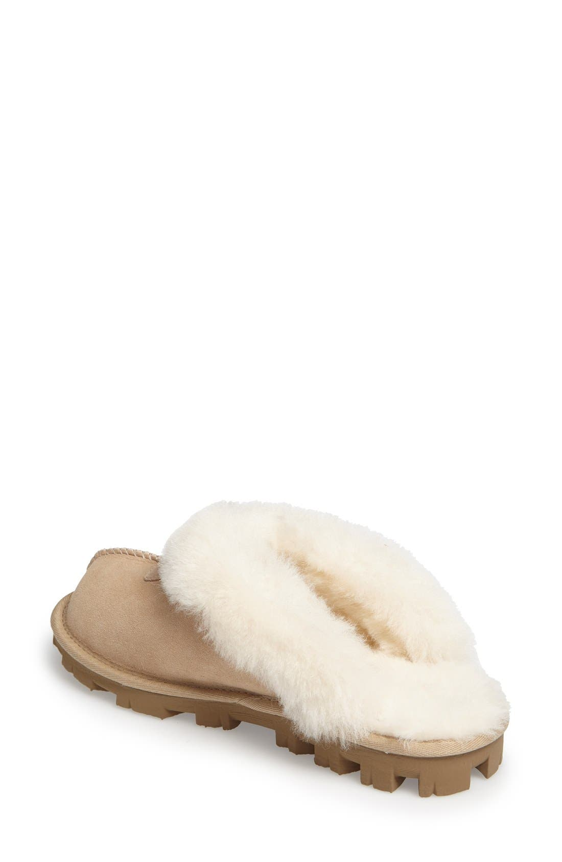 ,                             Genuine Shearling Slipper,                             Alternate thumbnail 191, color,                             SAN